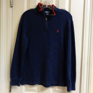 Polo Navy Pullover Sweater
